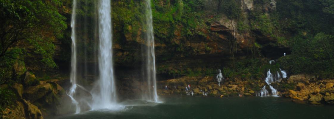 Tours cascadas de agua azul y misol h operado por expertos for Motor para cascada de agua